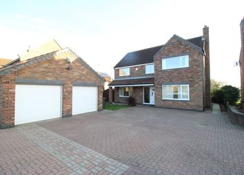 Thumbnail 4 bed detached house for sale in Pine Lodge Main Street, Great Heck, Goole