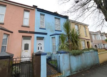 Thumbnail 2 bed terraced house for sale in Coombe Park Lane, Plymouth, Devon