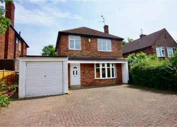 Thumbnail 3 bed detached house for sale in Yarborough Crescent, Lincoln