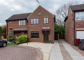 Thumbnail 2 bed semi-detached house for sale in Popplewell Close, Belton, Doncaster, Lincolnshire