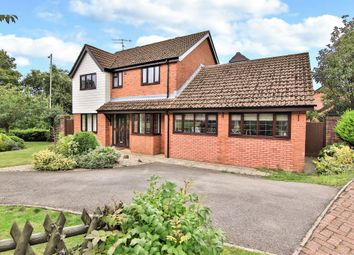 Thumbnail 4 bed detached house for sale in Oakleigh Court, Henllys, Cwmbran