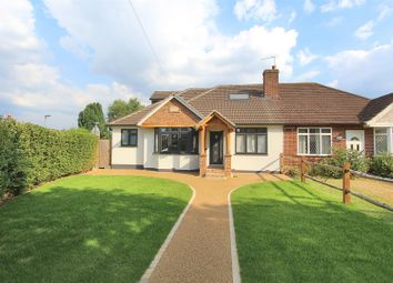 Thumbnail 4 bed semi-detached bungalow for sale in Woodham Lane, New Haw, Addlestone