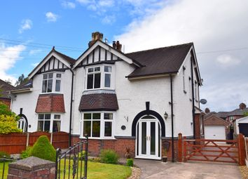 Thumbnail 3 bed semi-detached house for sale in Nantwich Road, Audley, Stoke-On-Trent