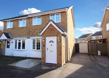 Thumbnail 2 bed semi-detached house for sale in Ganges Road, Shotley Gate, Ipswich