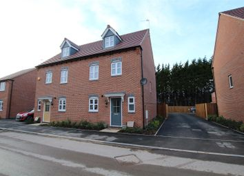 Thumbnail 4 bedroom semi-detached house for sale in Cascade Close, Burton-On-Trent