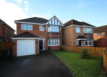 Thumbnail 4 bed detached house for sale in Romulus Gardens, Kingsnorth, Ashford