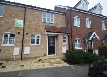 Thumbnail 2 bed terraced house for sale in Mary Clarke Close, Hadleigh, Ipswich