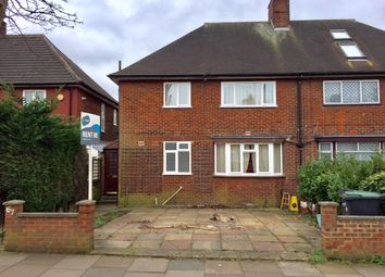 Thumbnail 4 bed semi-detached house to rent in Green Road, Oakwood, London