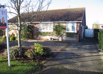Thumbnail 2 bed semi-detached bungalow to rent in Wolsey Road, Rugby, Warwickshire