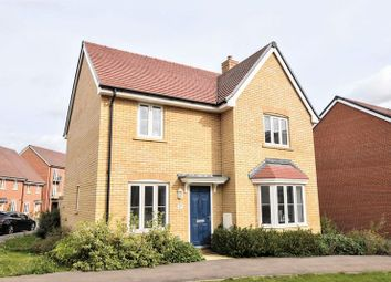 Thumbnail 4 bedroom detached house for sale in Curacao Crescent, Newton Leys, Milton Keynes