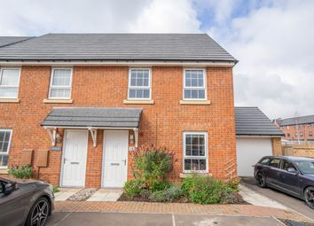 Thumbnail 3 bed semi-detached house for sale in Teviot Drive, New Lubbesthorpe, Leicester
