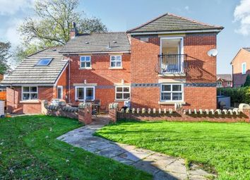 Thumbnail 4 bed detached house for sale in Stone Cross Lane North, Lowton, Warrington, Cheshire