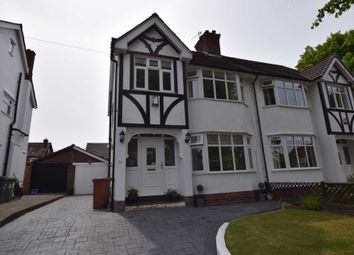 Thumbnail 3 bed semi-detached house for sale in Malpas Avenue, Prenton