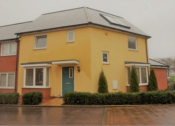 Thumbnail 3 bed end terrace house for sale in Torkildsen Way, Harlow
