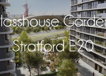 Thumbnail 2 bedroom flat for sale in 2nd Floor, West Tower, Glasshouse Gardens, Stratford City