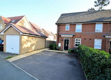 Thumbnail 3 bed semi-detached house for sale in Peregrine Way, Hatfield, Hertfordshire
