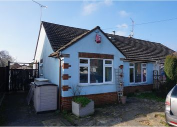 Thumbnail 3 bed semi-detached bungalow for sale in St. Martins Road, Poole