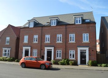 Thumbnail 3 bed town house for sale in Hunters Road, Fernwood, Newark