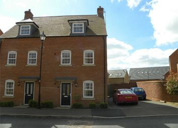Thumbnail 4 bed semi-detached house for sale in Cantley Road, Great Denham, Bedford