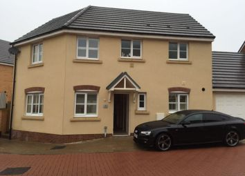 Thumbnail 3 bed detached house to rent in Llys Y Wennol, Coity, Bridgend