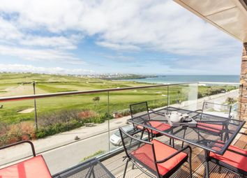 Thumbnail 3 bed flat for sale in Azure, 20 Headland Road, Newquay, Cornwall