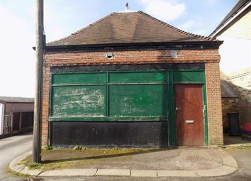 Thumbnail Commercial property for sale in Milk Street, Leek, Staffordshire
