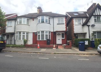 Thumbnail 3 bed terraced house to rent in Powis Gardens, Golders Green, London