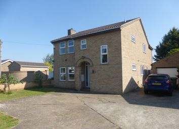 Thumbnail 4 bed detached house for sale in Upwell Road, March
