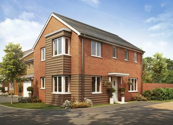 "Thumbnail 3 bed detached house for sale in ""The Clayton Corner"" at Goshawk Green, Leighton Buzzard"