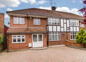 Thumbnail 5 bed semi-detached house for sale in Lyndhurst Rise, Chigwell