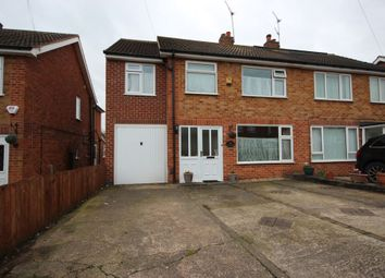 Thumbnail 4 bed semi-detached house for sale in Balladine Road, Anstey