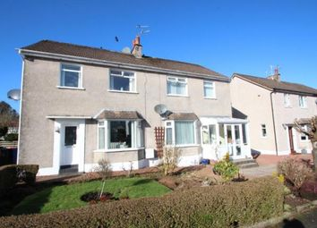 Thumbnail 3 bed semi-detached house for sale in Barlae Ave, Waterfoot, East Renfrewshire