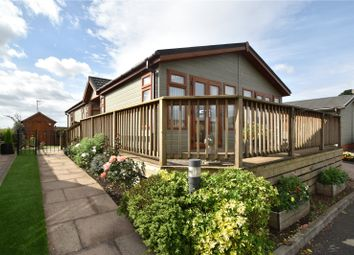 Thumbnail 2 bed detached bungalow for sale in Hanbury Wharf Lodge Park, Hanbury Road, Droitwich, Worcestershire