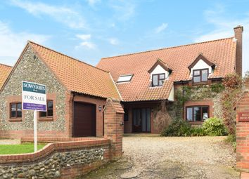 Thumbnail 4 bedroom detached house for sale in Holt Road, Edgefield, Melton Constable