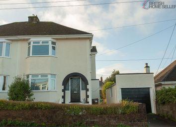 Thumbnail 3 bed semi-detached house for sale in Longview Road, Saltash, Cornwall