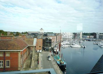 Thumbnail 2 bed flat to rent in Regatta Quay, Key Street, Ipswich
