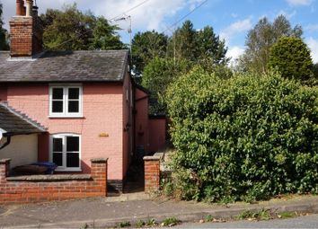 Thumbnail 2 bed semi-detached house for sale in White Horse Hill, Tattingstone, Ipswich