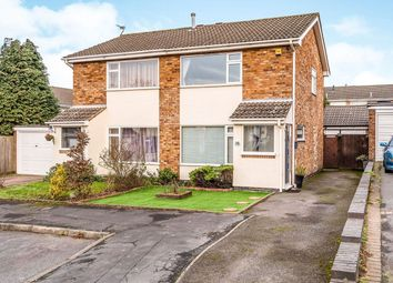 Thumbnail 2 bedroom semi-detached house for sale in Helmsdale Close, Coalville