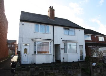 Thumbnail 3 bedroom semi-detached house to rent in Uplands Road, Birmingham