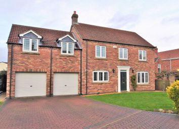 Thumbnail 5 bed detached house for sale in The Gables Paddock, Eastrington, Goole