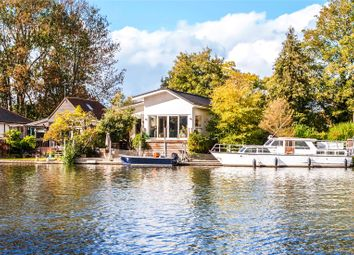 Thumbnail 3 bed detached house for sale in Wheatleys Eyot, Sunbury-On-Thames, Surrey