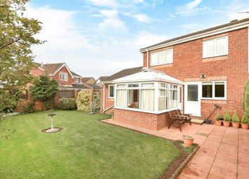 Thumbnail 4 bed detached house for sale in Farm Court, Market Weighton, York