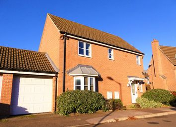 Thumbnail 3 bed detached house for sale in John Davis Way, Watlington, King's Lynn