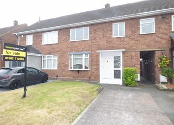 Thumbnail 3 bedroom terraced house for sale in Wentworth Road, Wolverhampton, West Midlands