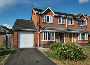 Thumbnail 3 bed semi-detached house for sale in Aldersley Way, Ruyton XI Towns, Shrewsbury, Shropshire