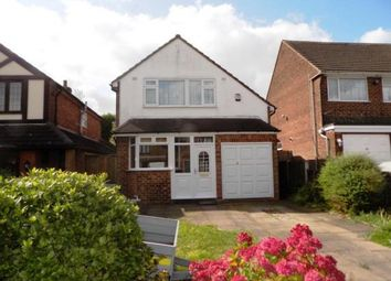 Thumbnail 3 bed detached house for sale in Maxholm Road, Sutton Coldfield, West Midlands