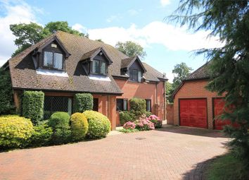 Thumbnail 5 bed detached house for sale in Round End, Newbury