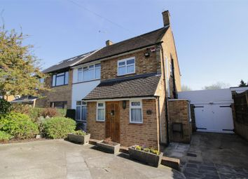 Thumbnail 3 bed semi-detached house for sale in Albury Drive, Pinner