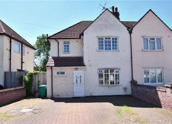 Thumbnail 3 Bedroom Semi Detached House For Sale In Manor Waye Uxbridge Middle