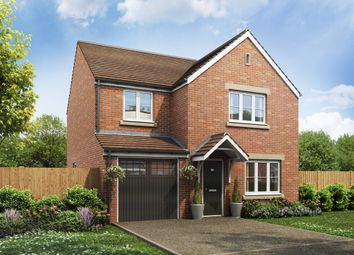 "Thumbnail 4 bed detached house for sale in ""The Roseberry"" at Cross Lane, Sacriston, Durham"